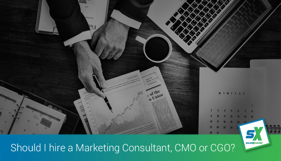 8 Reasons: Hiring a Sales & Marketing Consultant or CGO in 2020/2021