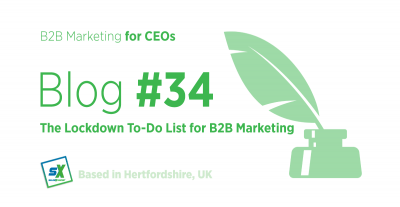 The Lockdown To-Do List for B2B Marketing