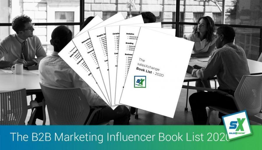 The salesXchange B2B Marketing Influencer Book List 2020