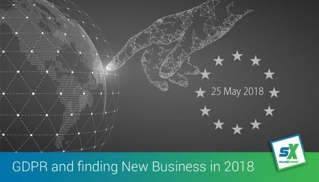 GDPR and Finding New Business in 2018