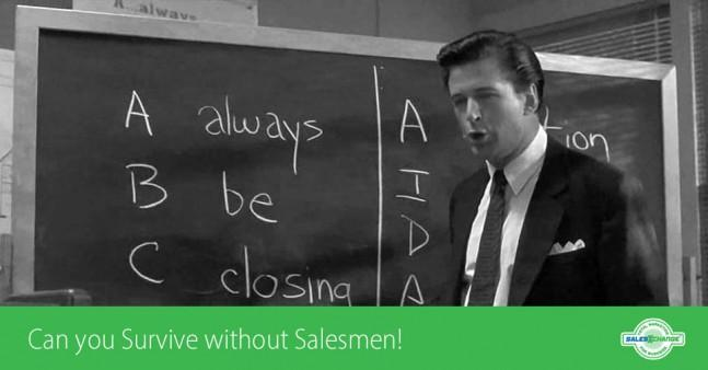 Can you Survive without Salesmen?