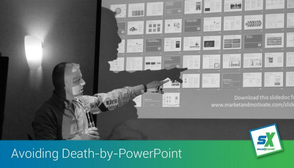 Preparing for your presentations and avoiding 'death-by-PowerPoint!'