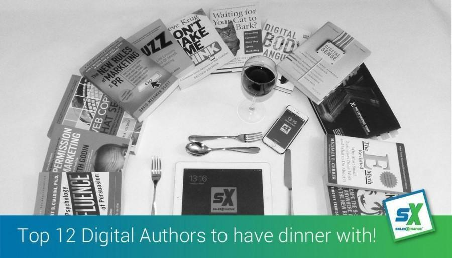 Top 12 Digital Authors to have dinner with!