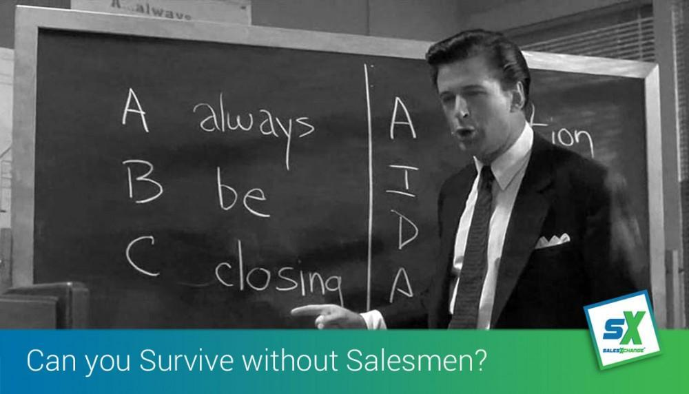 Can you Survive without Salesmen and just install more marketing technology?