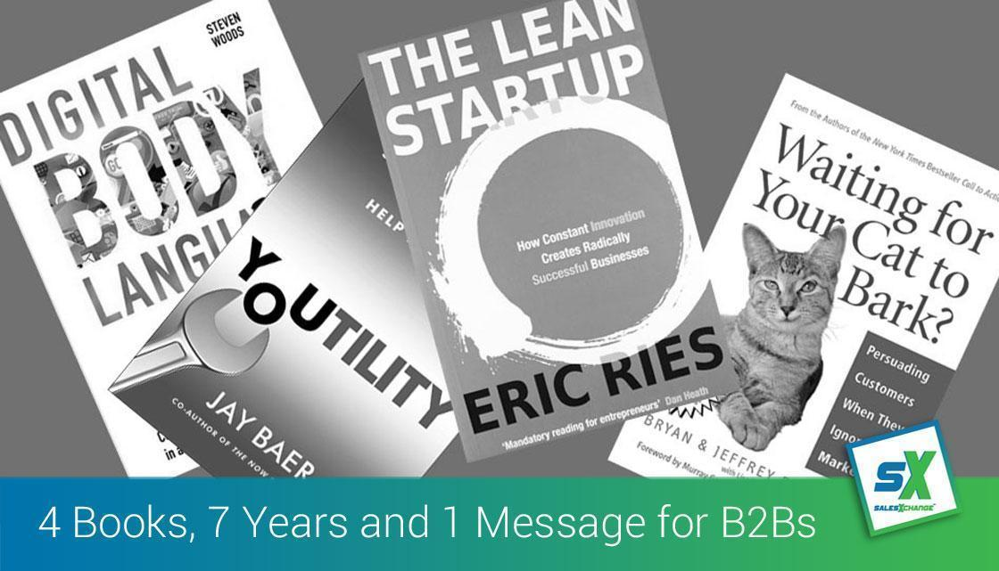 Four Books, Seven Years and One Tireless Message for B2B Marketing